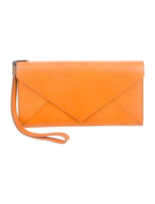 Delvaux Heure Exquise Clutch Brown