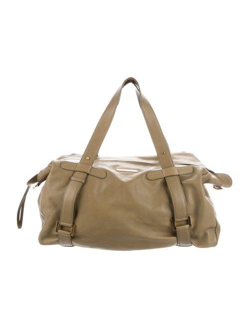 Delvaux Leather Shoulder Bag Green