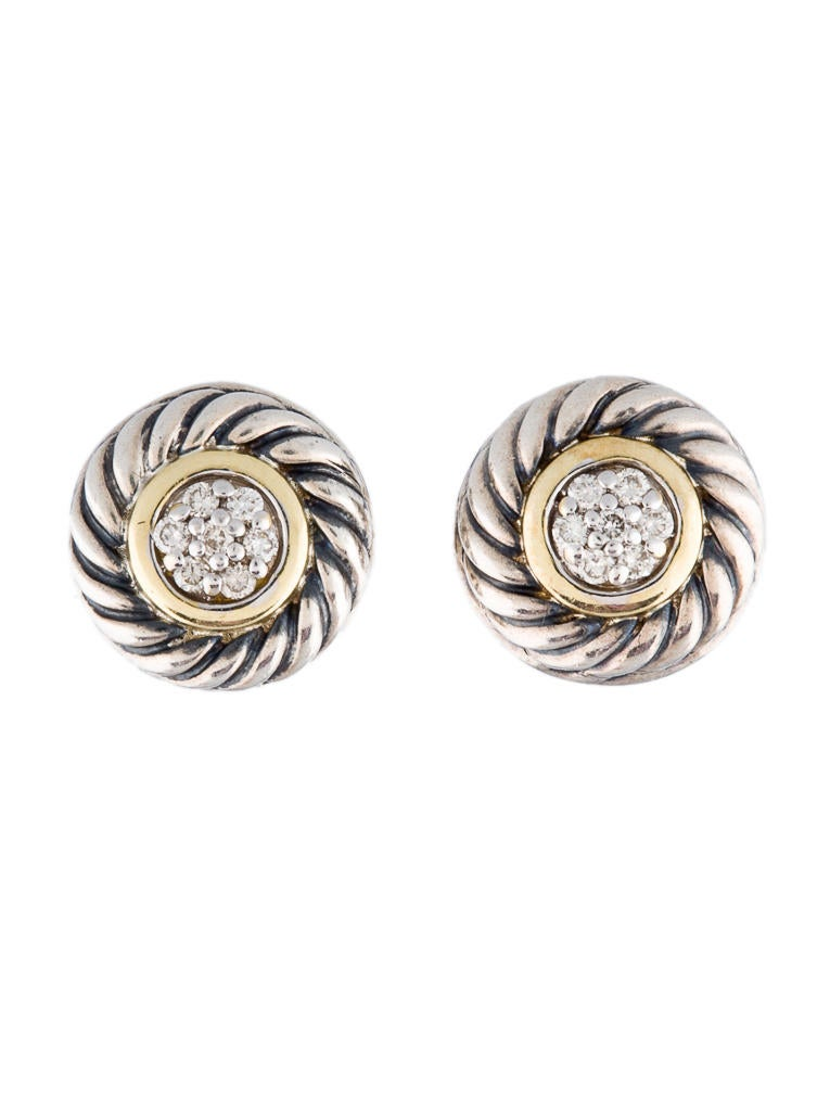 david yurman earrings sale david yurman cookie earrings earrings dvy10066 the 8677