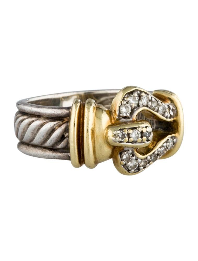 David Yurman Cable Buckle Ring Rings Dvy20566 The