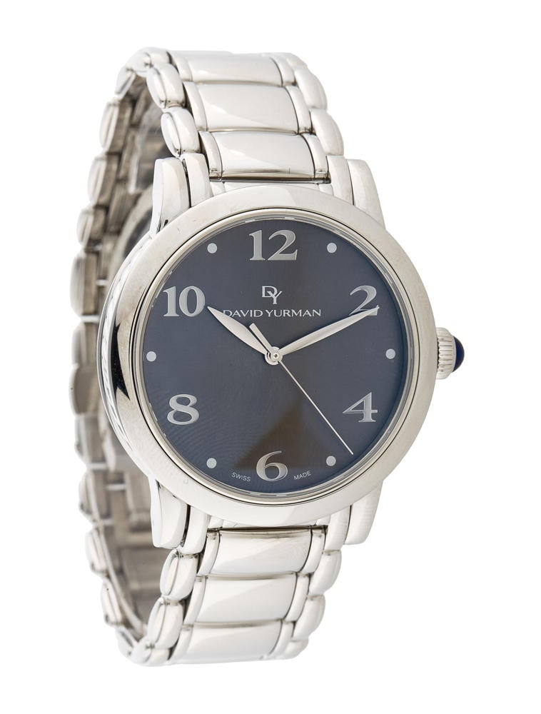 David yurman classic watch 38mm dvy21384 the realreal for Watches 38mm