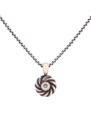 Pavé Cookie Necklace