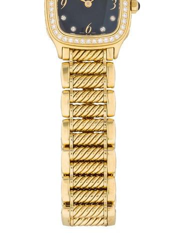 18K Yellow Gold Thoroughbred Diamond Watch