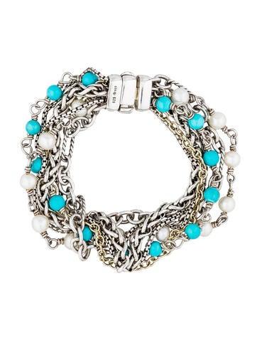 Beaded Mixed Chain Bracelet
