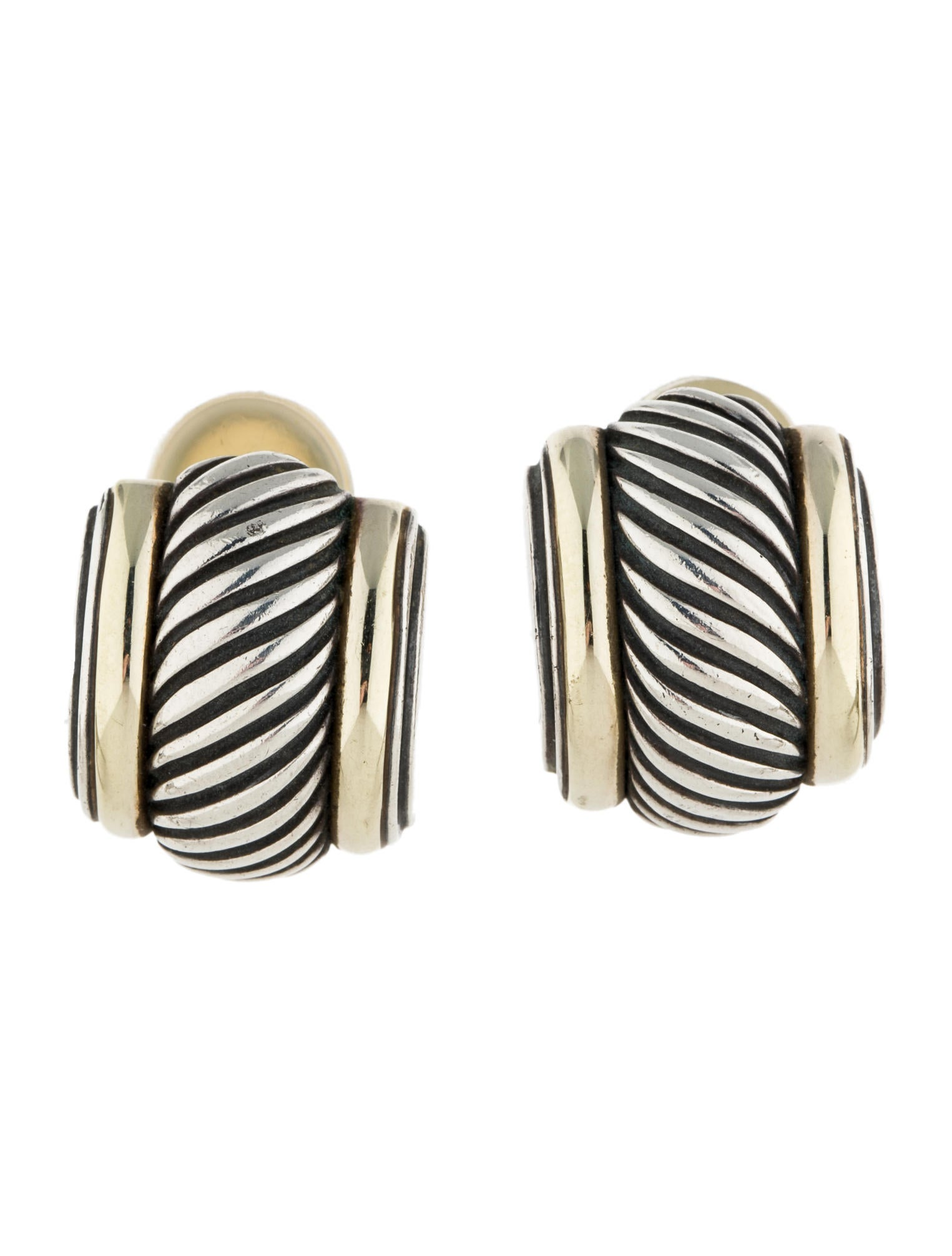 David Yurman Thoroughbred Earrings