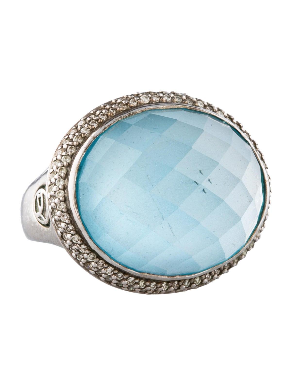 David yurman signature quartz and diamond ring rings for David yurman inspired jewelry rings