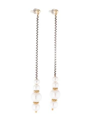 Pearl Copella Drop Earrings