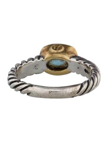 Blue Topaz  Noblesse Ring