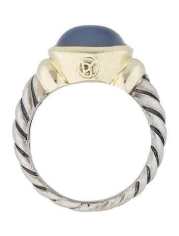 Two-Tone Moonstone Ring