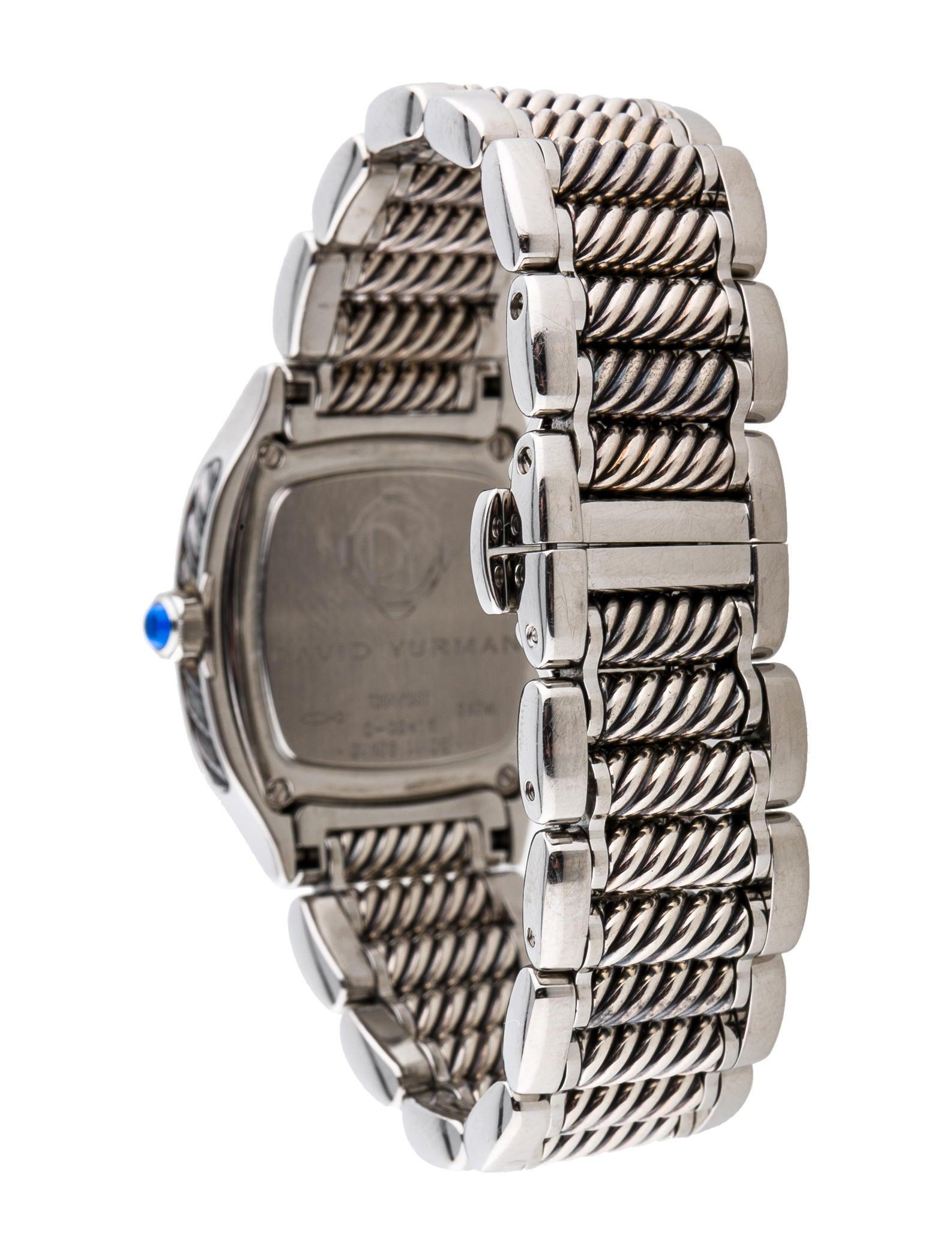 25mm diamond watch