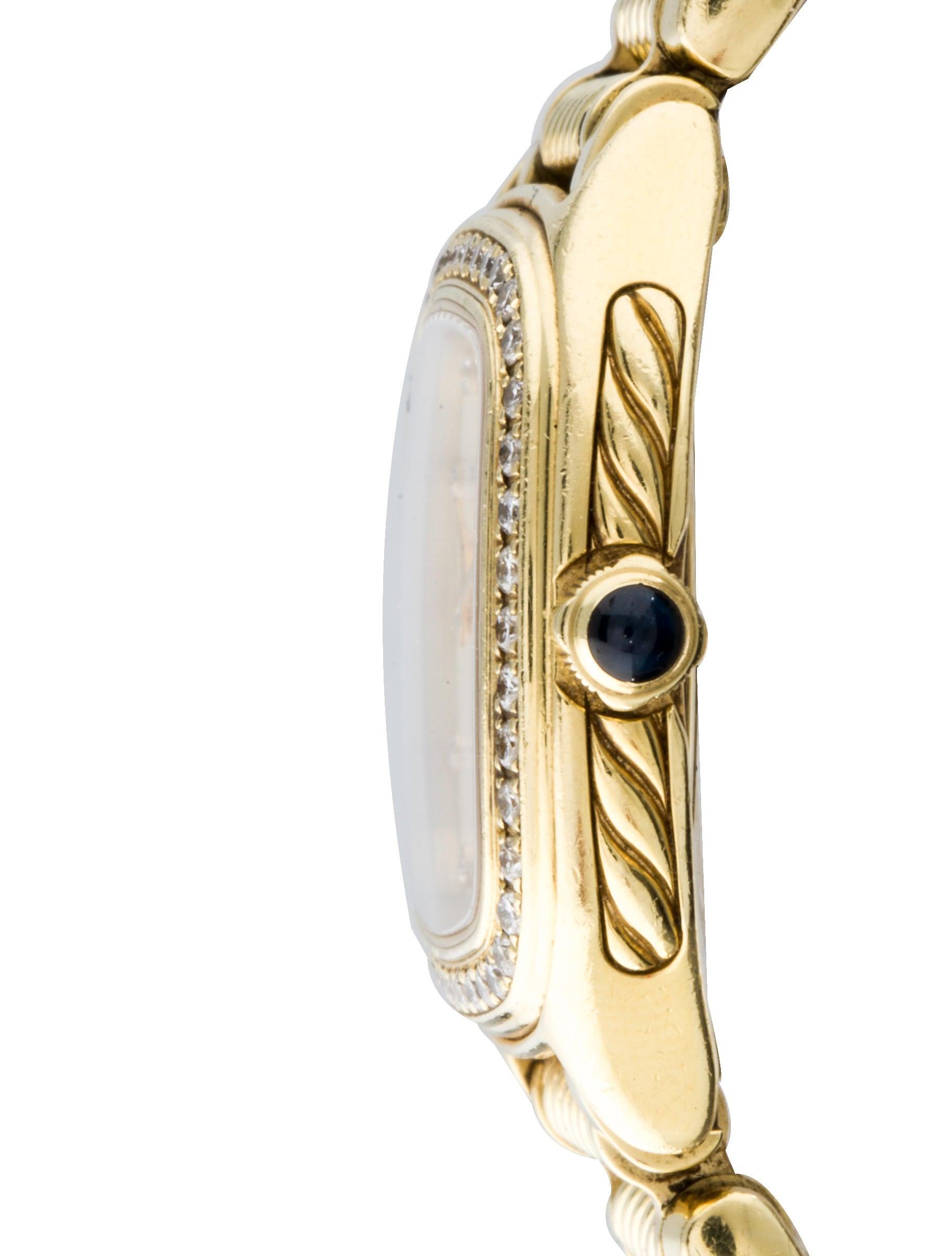 18k diamond watch