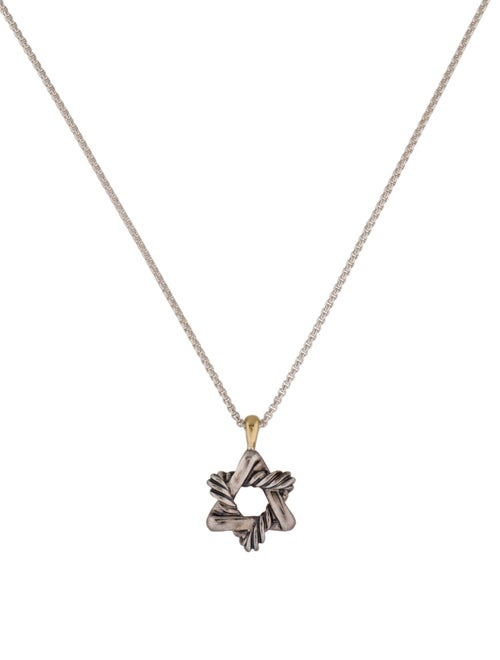 88bd259fba4f David Yurman Cable Kids Star of David Pendant Necklace - Necklaces ...