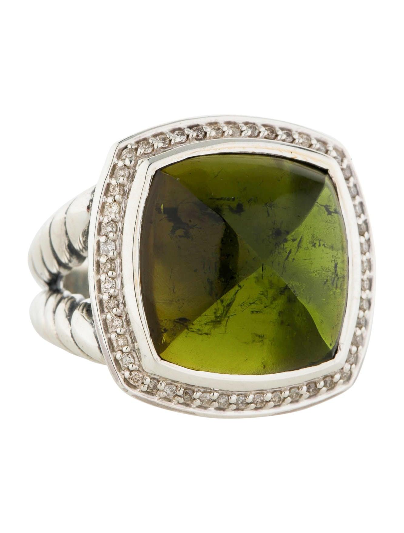 David yurman peridot diamond ring rings dvy27308 the for David yurman inspired jewelry rings