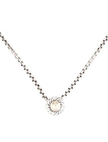Cookie Pendant Necklace