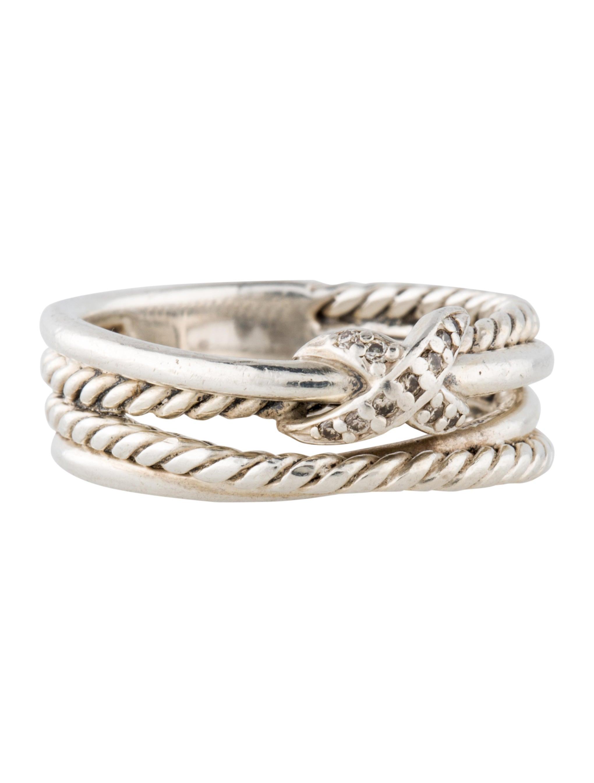 david yurman x crossover ring rings dvy27660