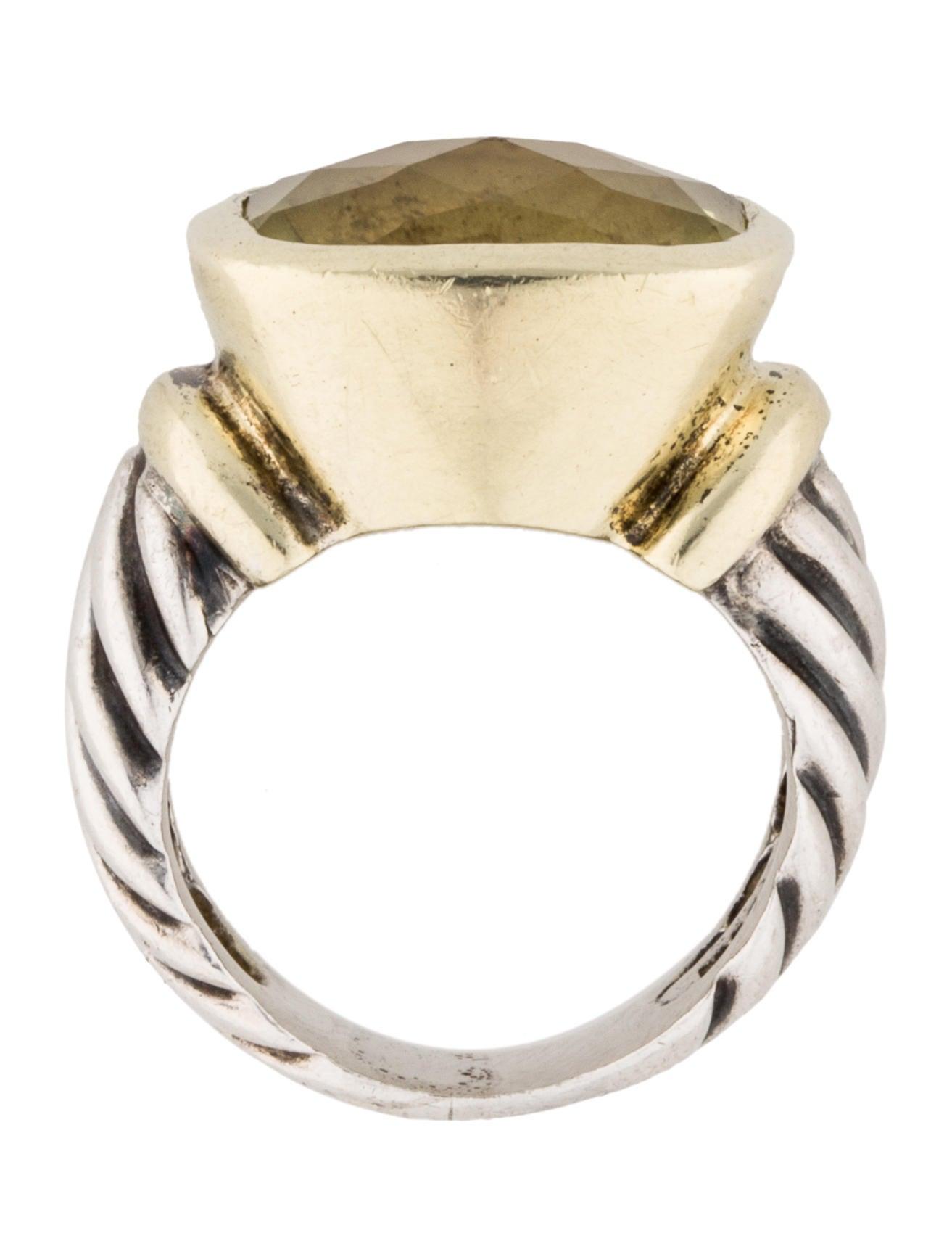 David yurman citrine noblesse ring rings dvy27666 for David yurman inspired jewelry rings