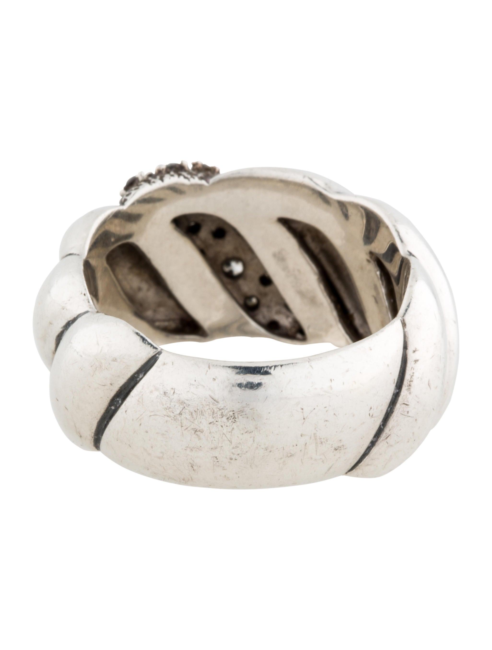 david yurman hton cable ring rings dvy28400