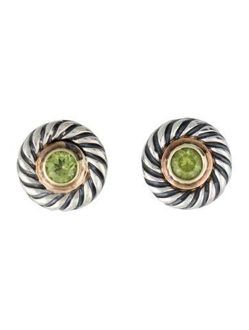 Peridot Cookie Earrings