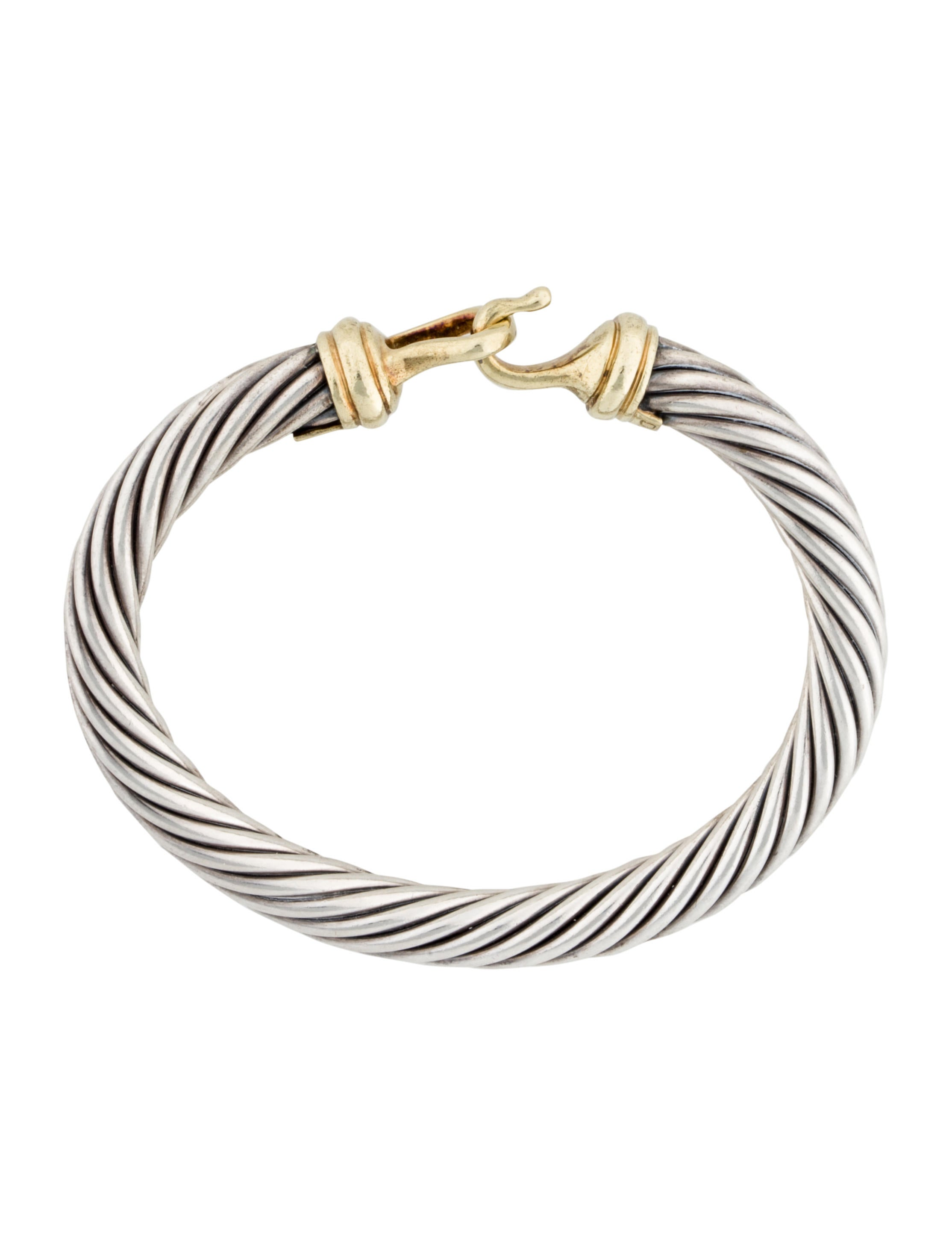 David yurman cable buckle bracelet bracelets dvy29013 for David yurman inspired bracelet cable