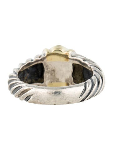 Two-Tone Sapphire Ring