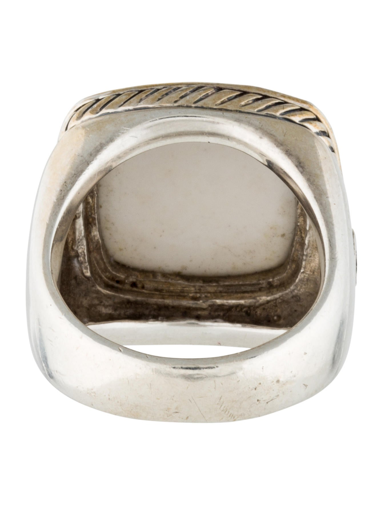 david yurman white agate albion ring rings dvy29218