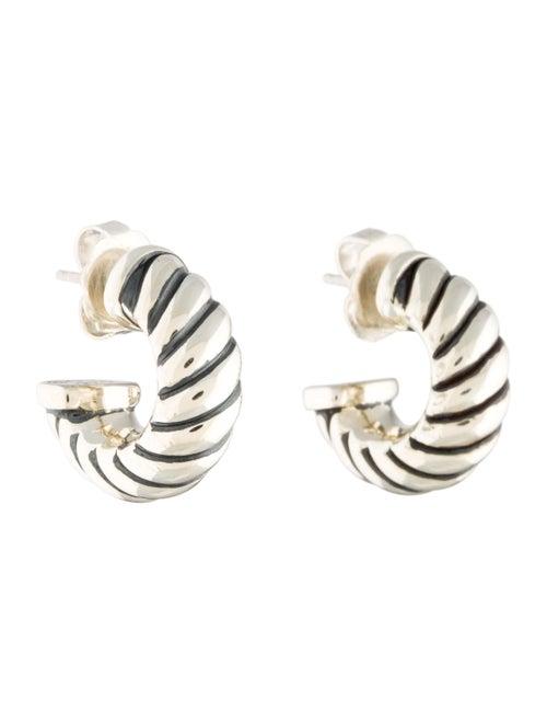 40ae567f10da7 David Yurman Cable Classics Shrimp Earrings - Earrings - DVY30599 ...