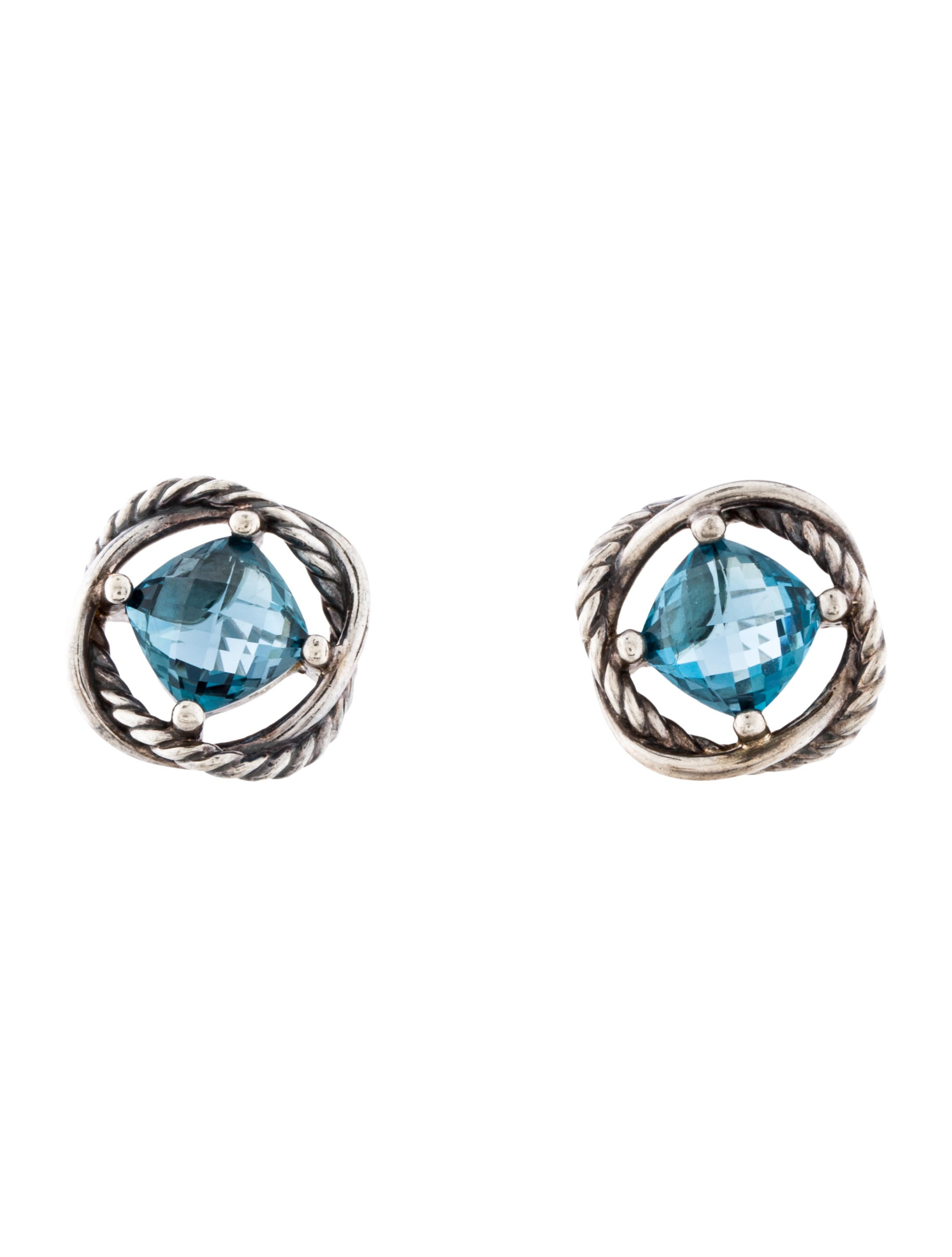 earrings cubic zirconia product setted with by silver victoria infinity