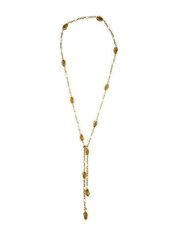 David Yurman Citrine Station Lariat
