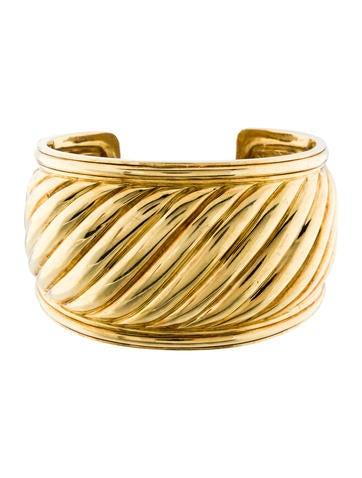 David Yurman Sculpted Cuff Bracelet