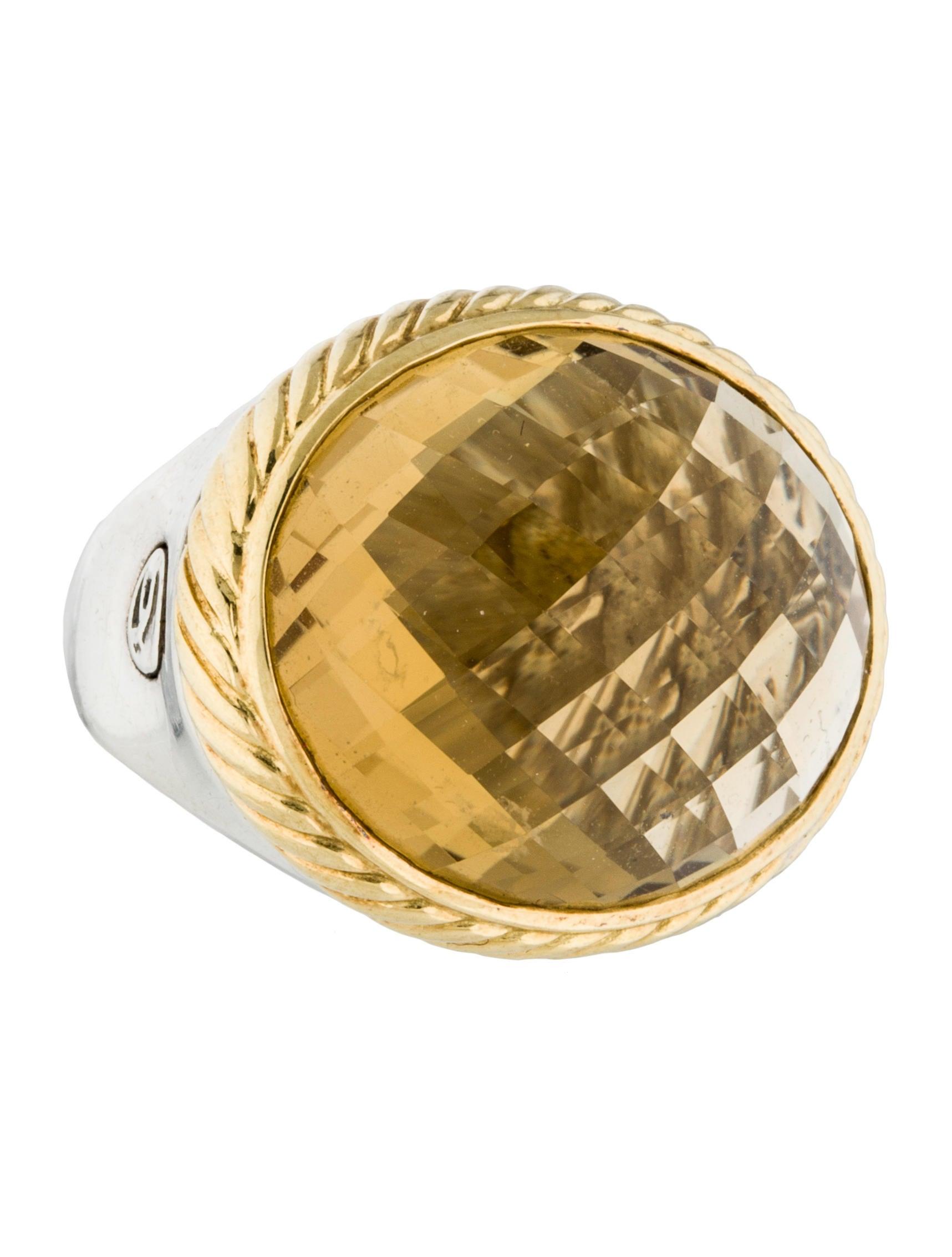 David yurman citrine oval ring rings dvy34744 the for David yurman inspired jewelry rings