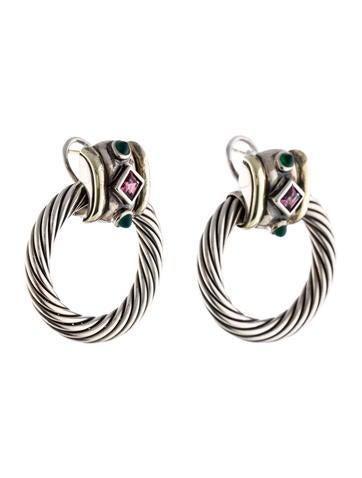 David Yurman Renaissance Door Knocker Earrings Earrings