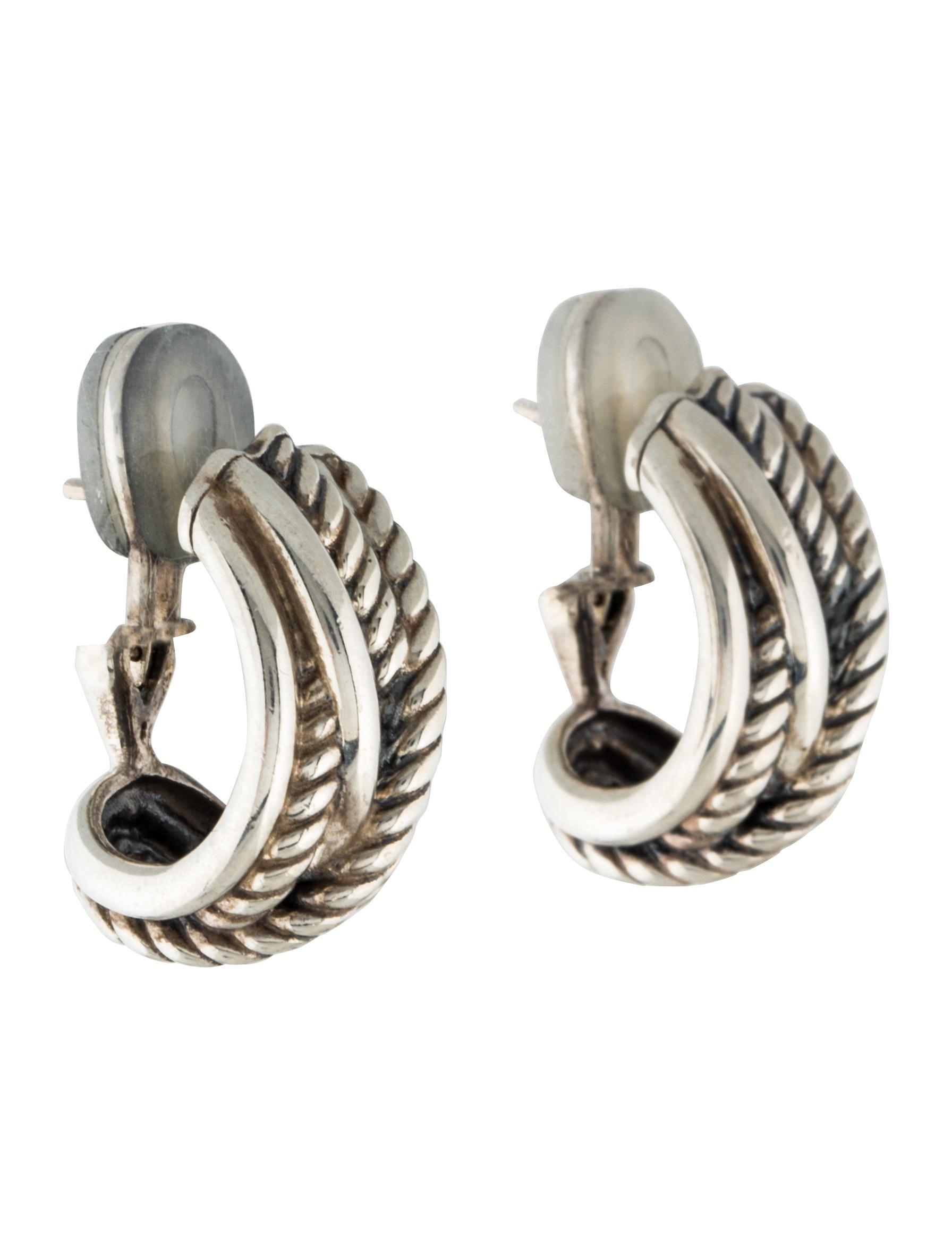 david yurman crossover earrings earrings dvy36354