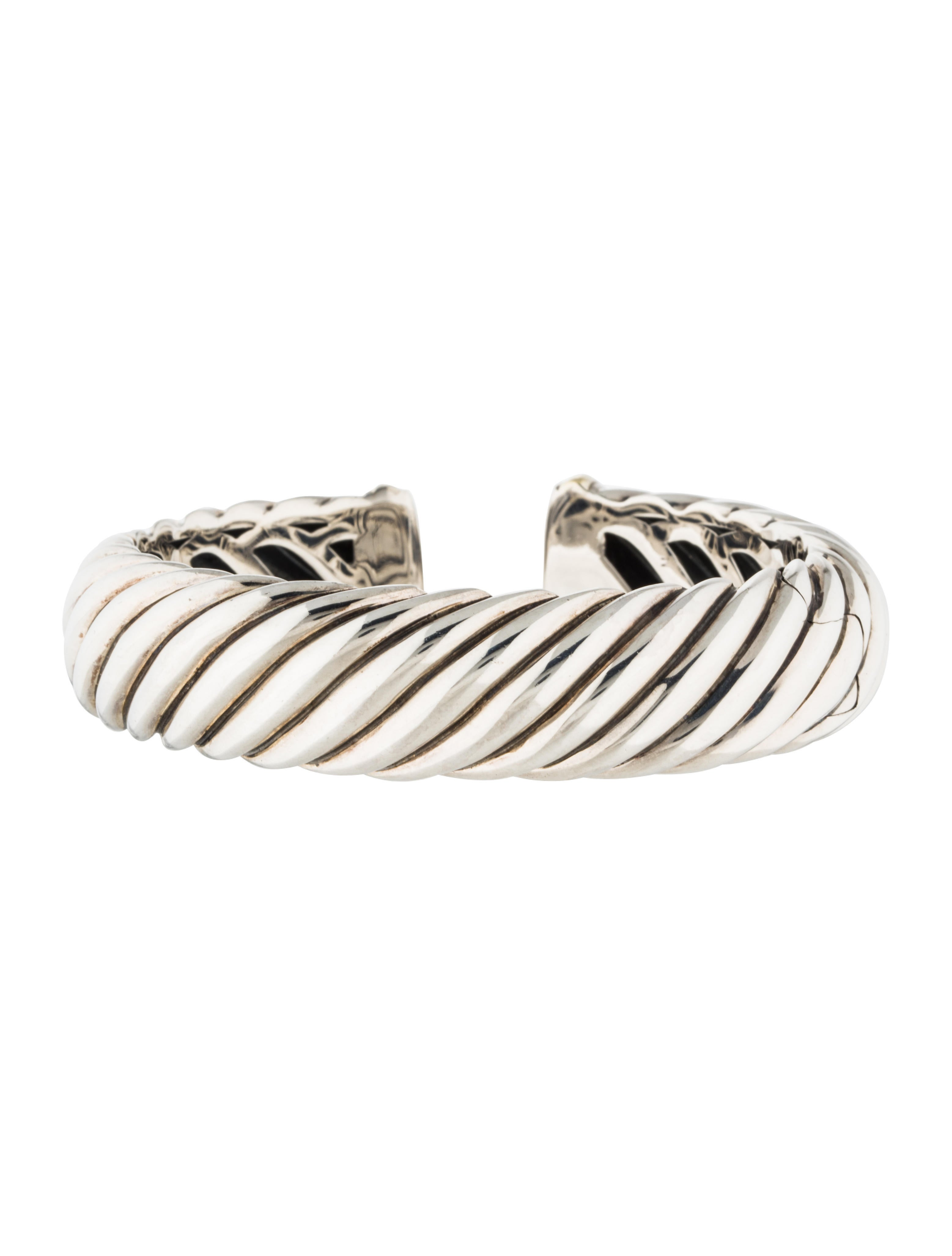 David yurman sculpted cable bracelet bracelets for David yurman inspired bracelet cable