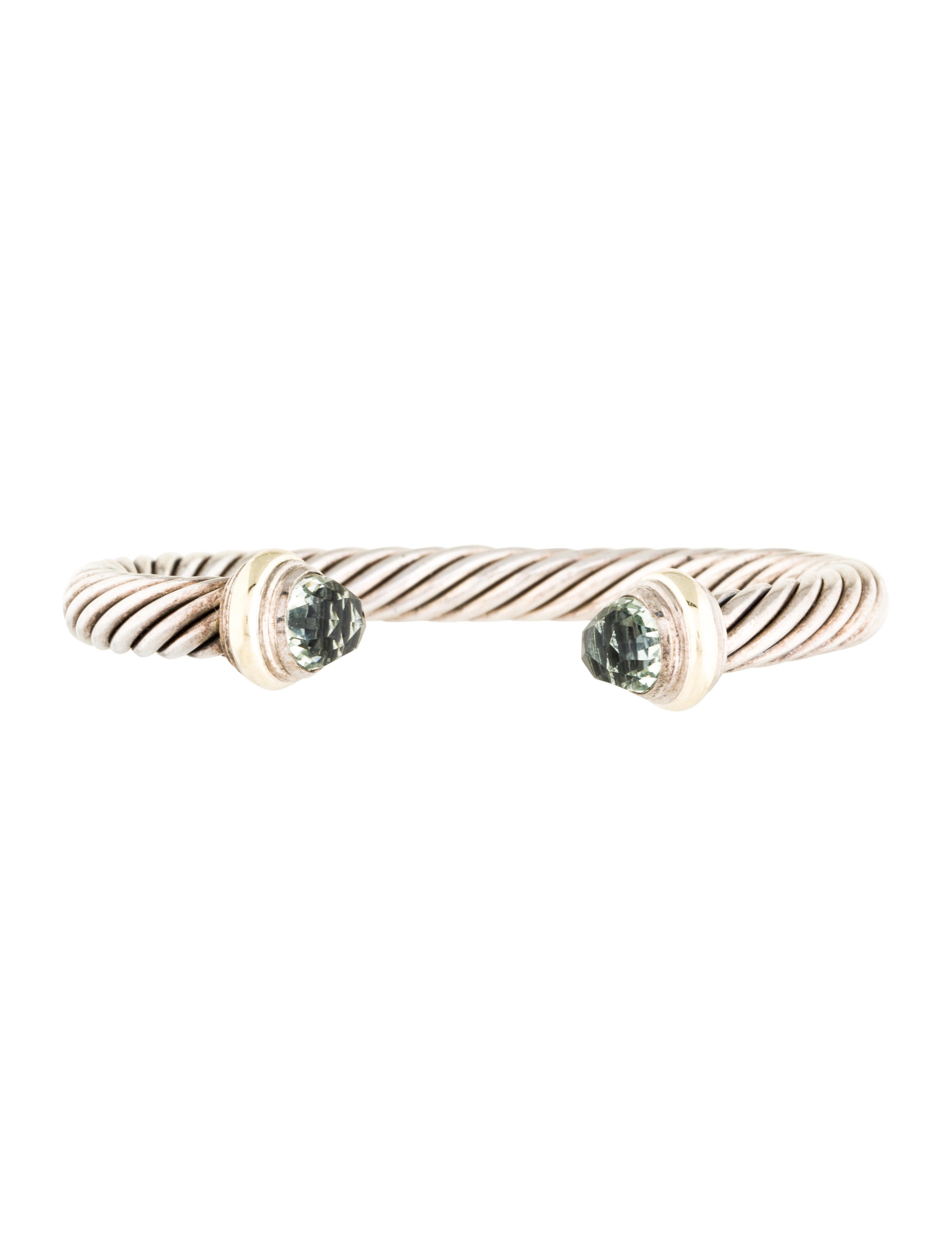 David yurman prasiolite cable classic bracelet bracelets for David yurman inspired bracelet cable