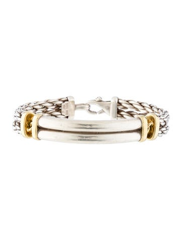 David Yurman Two-Tone Braided Bracelet