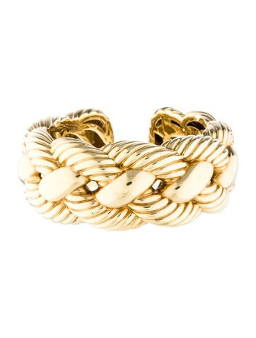 David Yurman Large Woven Cuff