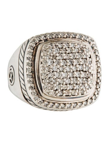 David Yurman Pavé Diamond Albion Cocktail Ring