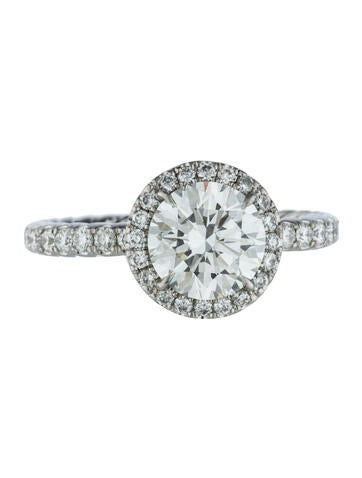 David Yurman 1.73ct Diamond Engagement Ring