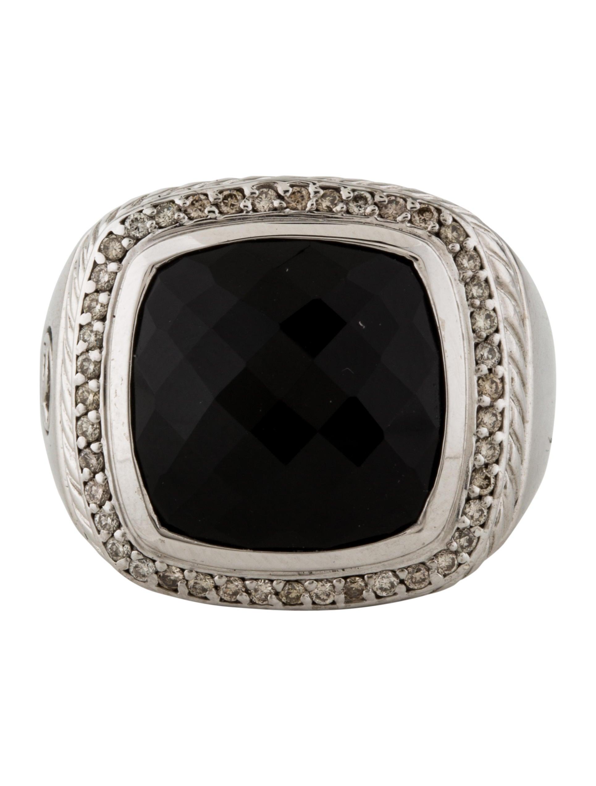 david yurman onyx albion ring rings dvy37402