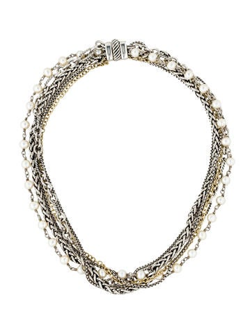 David Yurman Pearl Multistrand Necklace