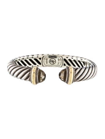 David Yurman Two-Tone Waverly Cuff Bracelet