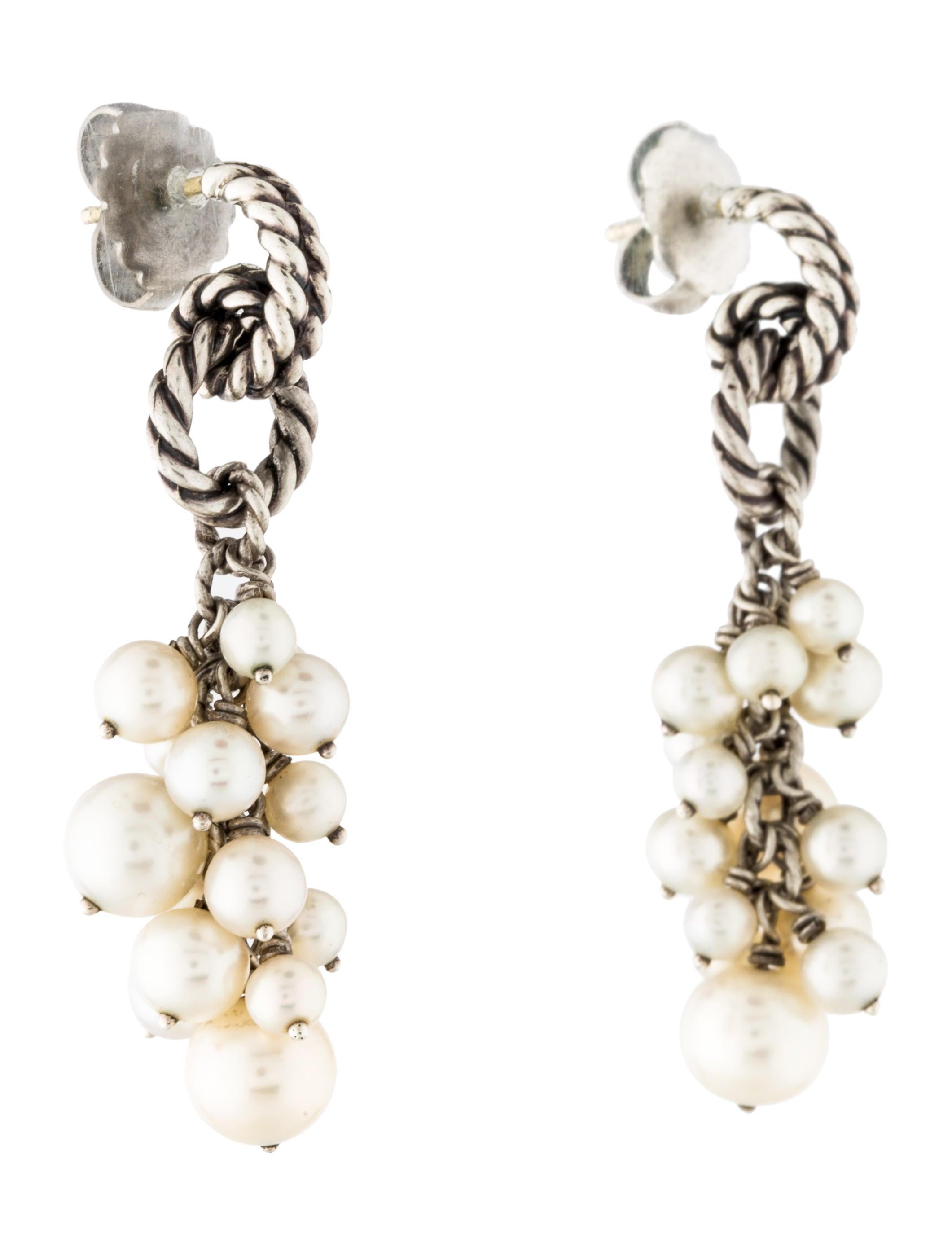 david yurman pearl copella earrings earrings dvy37656