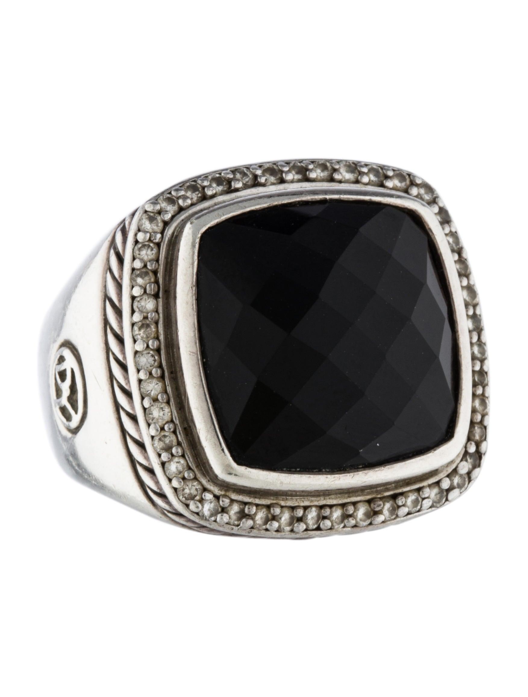 david yurman onyx albion ring rings dvy37665