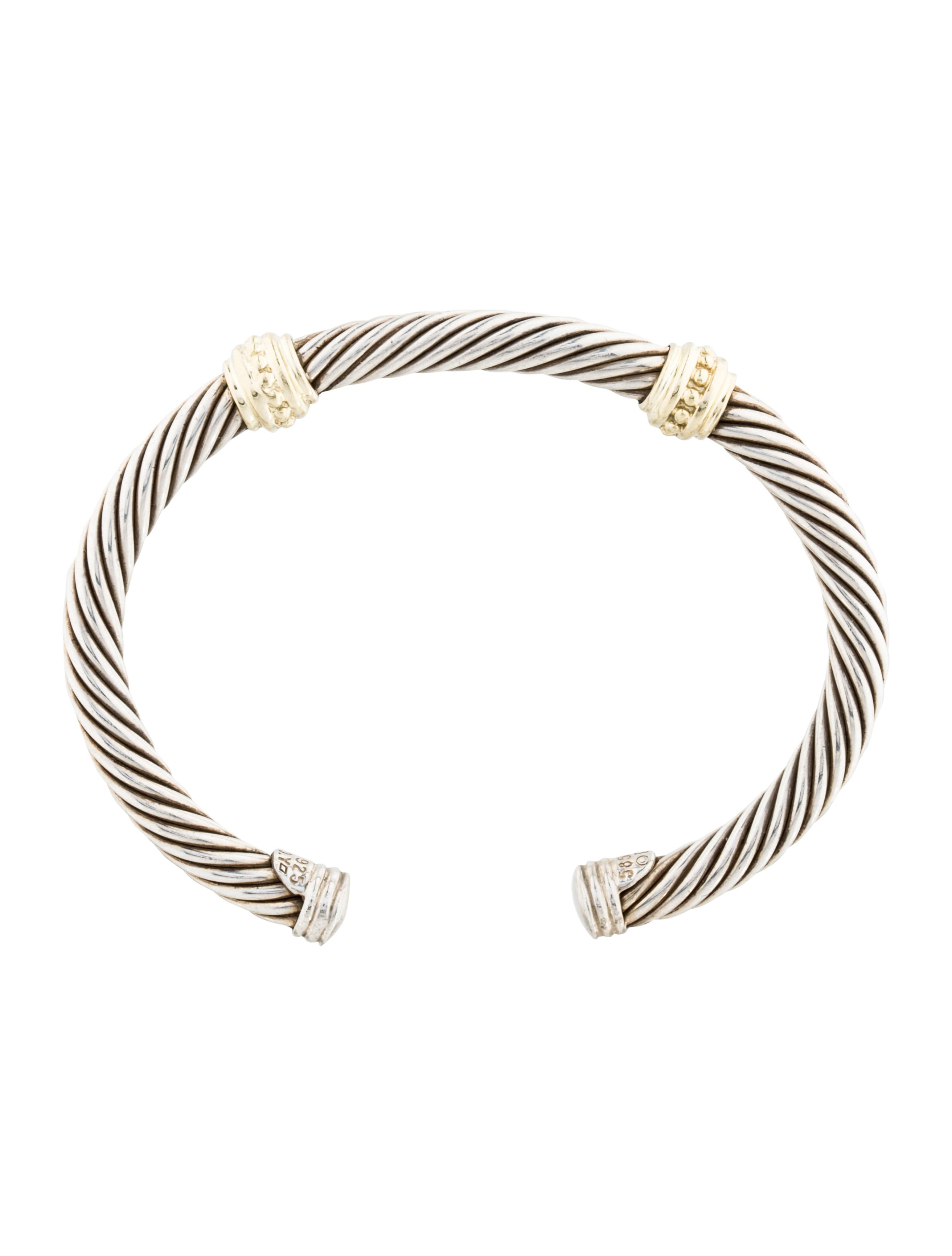 David yurman double station cable bracelet bracelets for David yurman inspired bracelet cable
