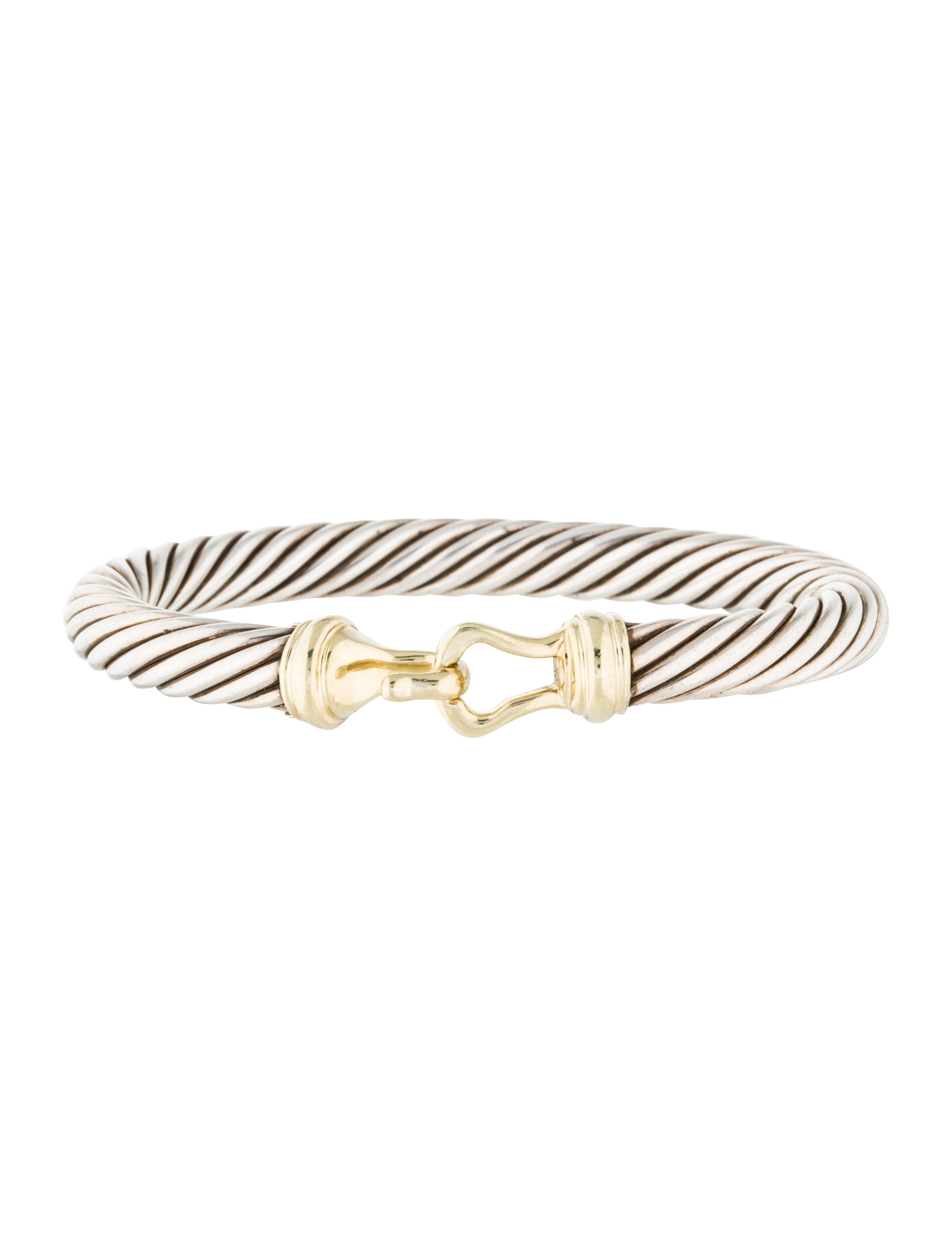 David yurman cable buckle bracelet bracelets dvy37781 for David yurman inspired bracelet cable