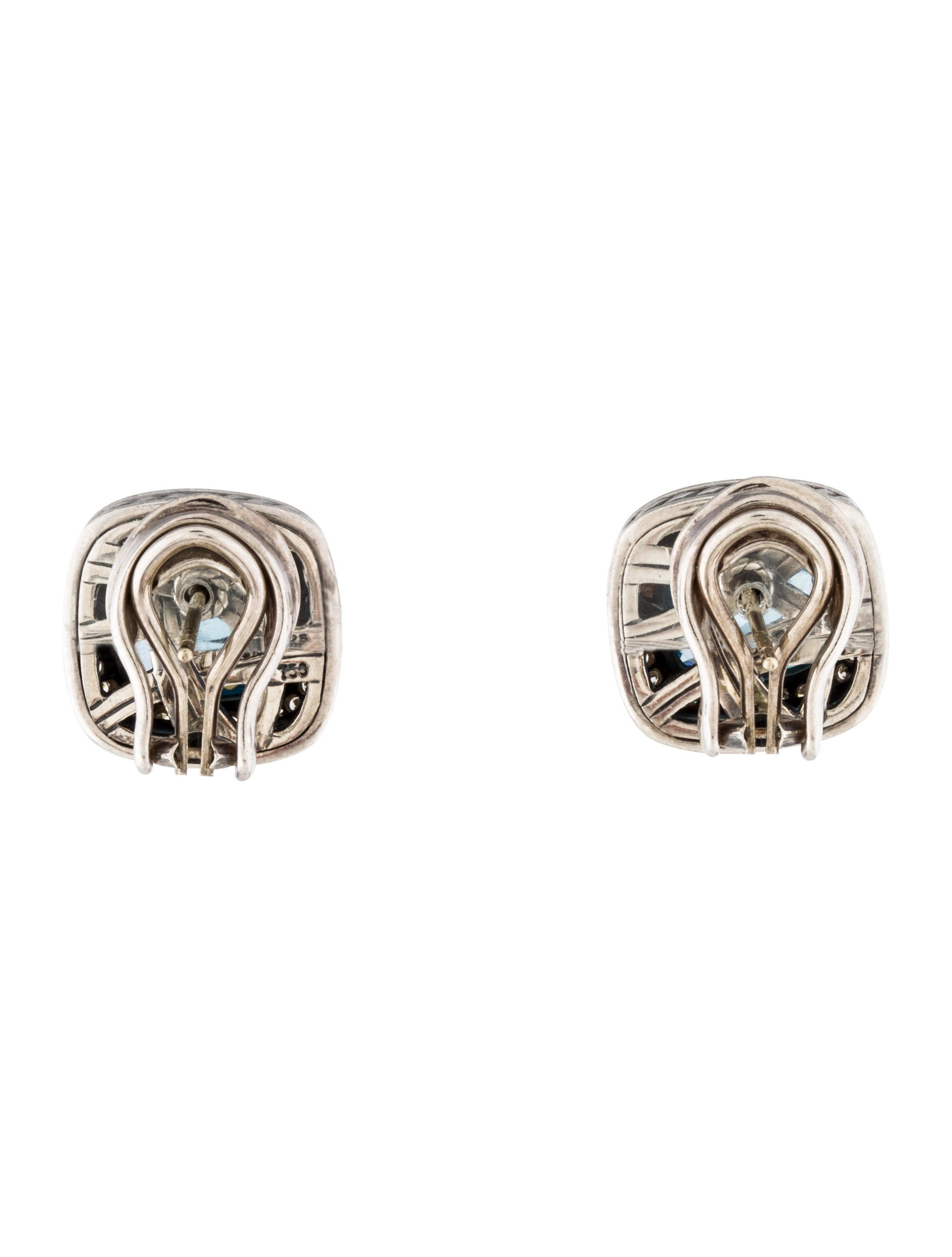 david yurman topaz albion earrings earrings