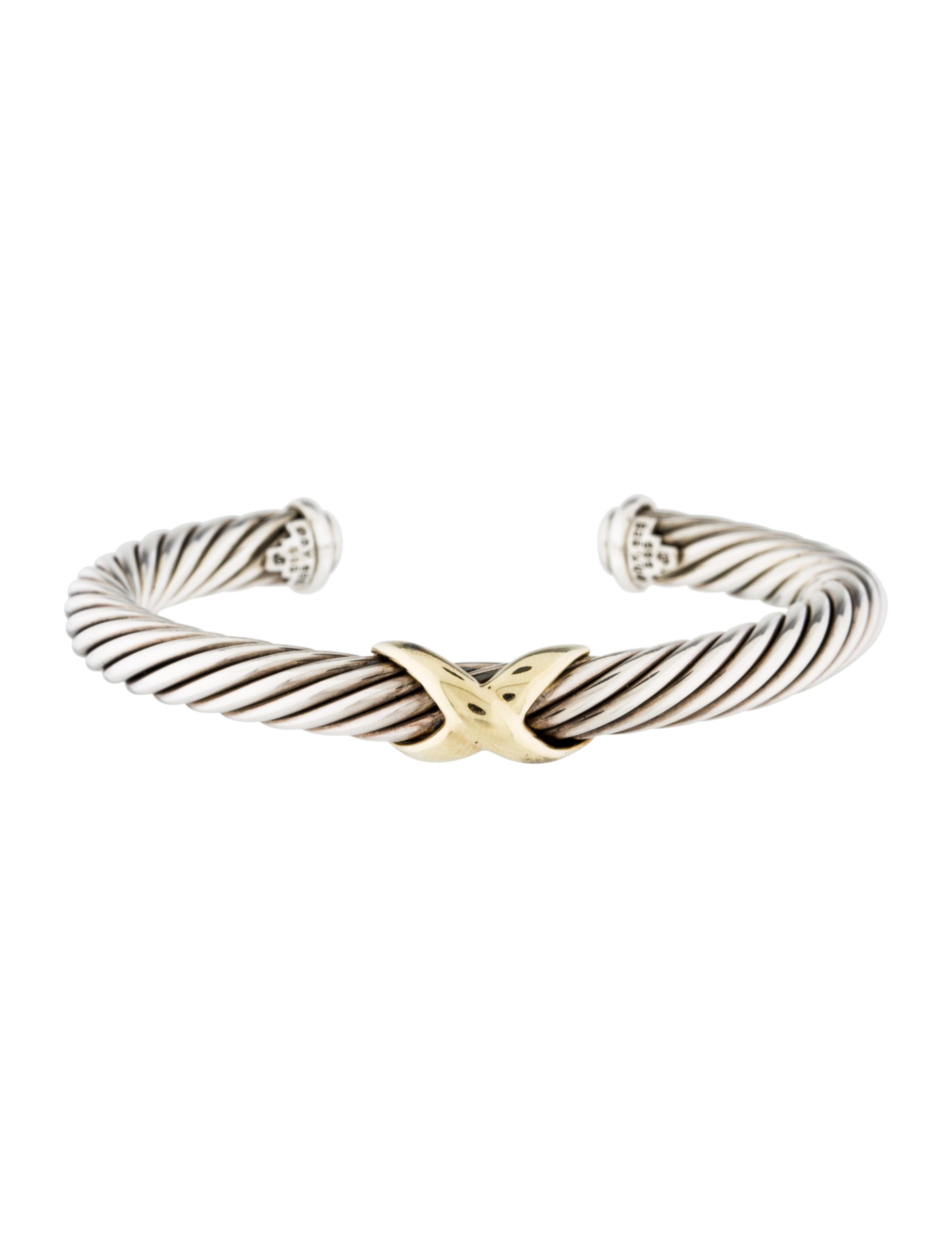 David Yurman 7mm X Bracelet Bracelets Dvy38055 The