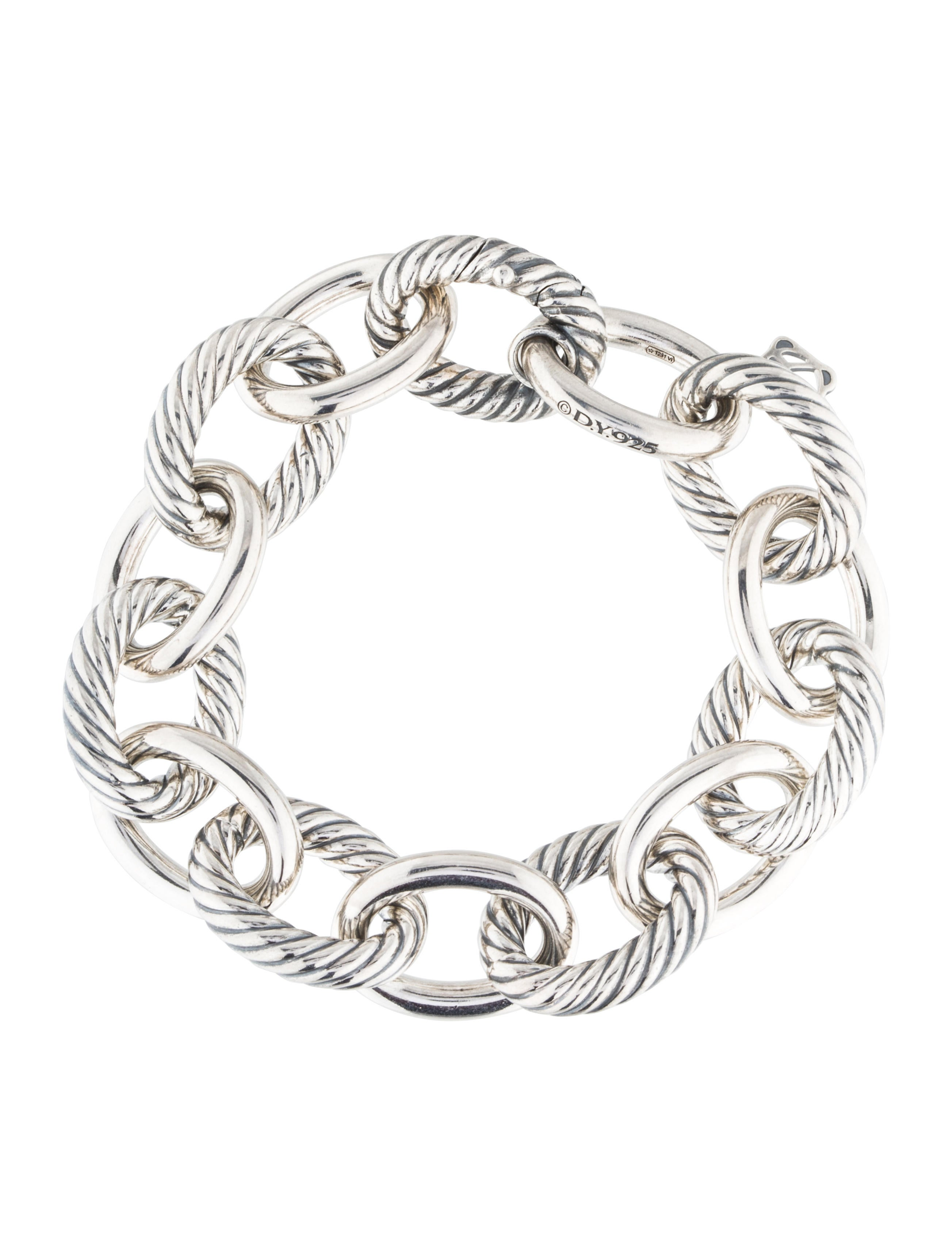 david yurman oval link bracelet david yurman large oval link bracelet bracelets 3846