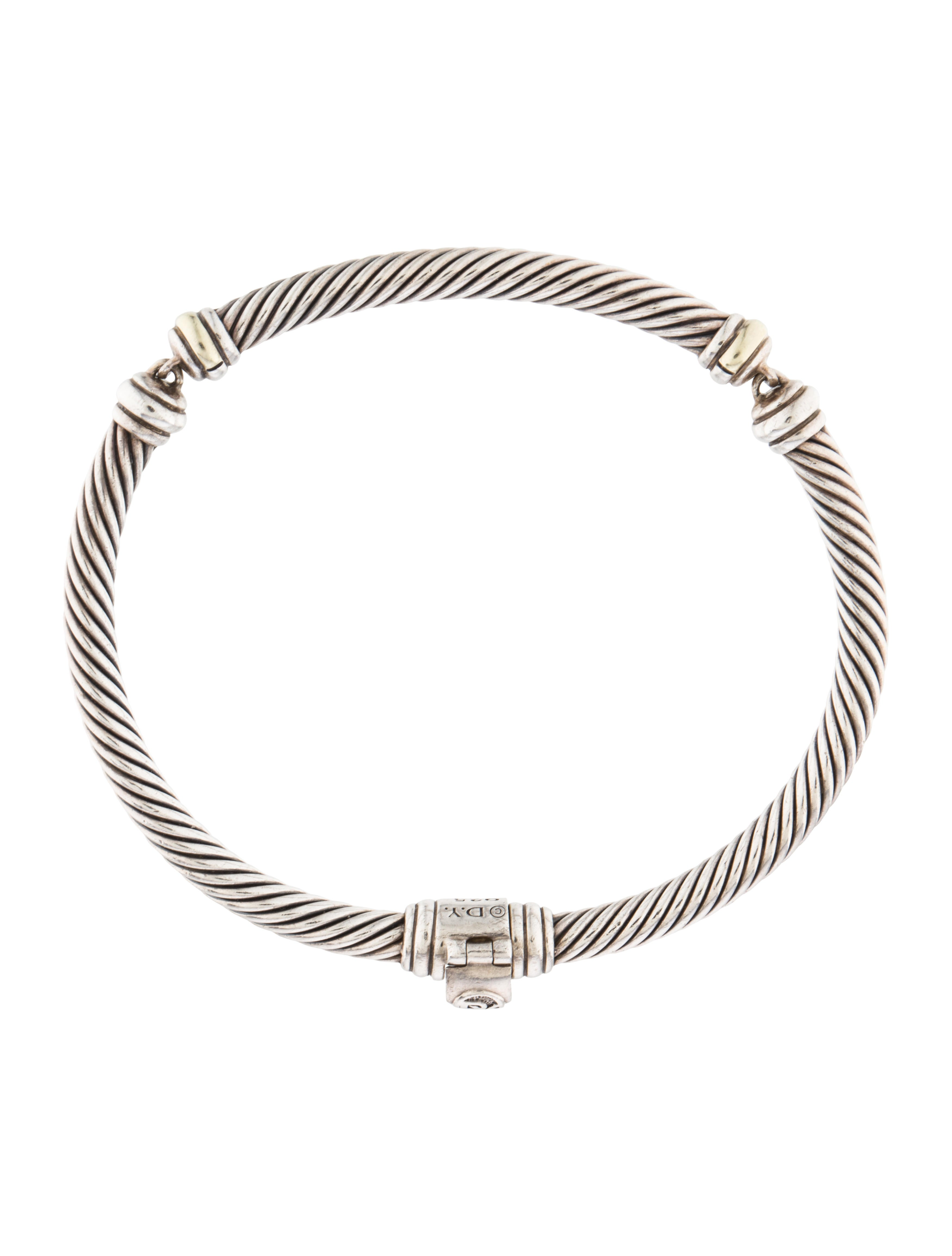 David yurman metro cable bracelet bracelets dvy38593 for David yurman inspired bracelet cable