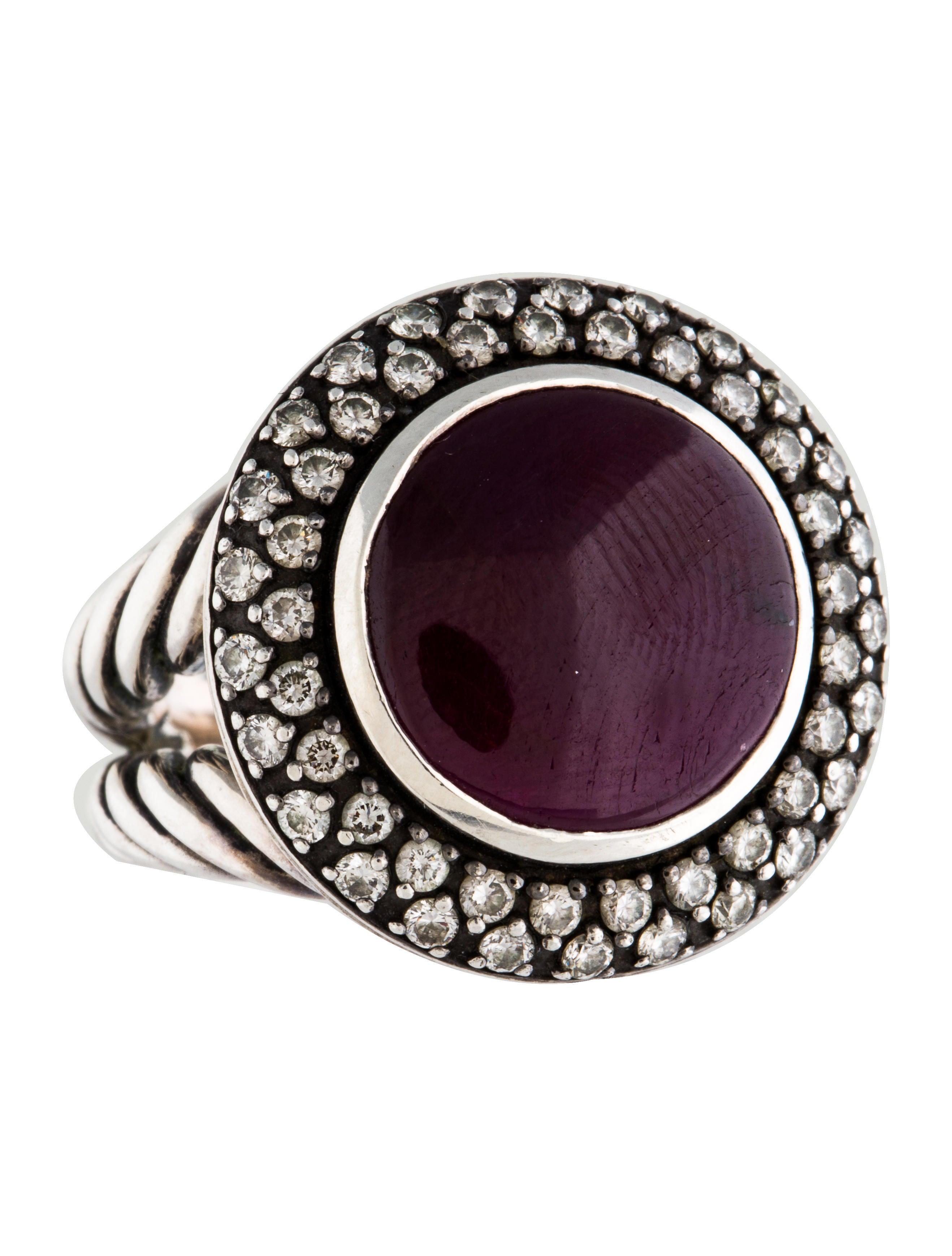 David yurman ruby diamond ring rings dvy38793 the for David yurman inspired jewelry rings
